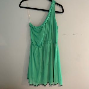 One shoulder sundress